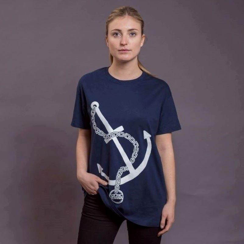 T-Shirt Anker, navy