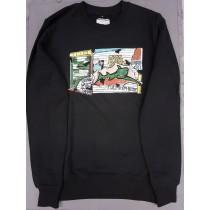 Graffiti Garage schwarz Sweatshirt Pulposphere